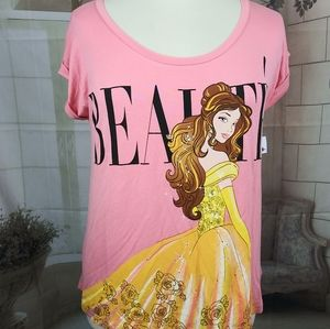 Disney Boutique Belle Beauty and The Beast Top